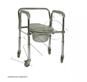 Καρέκλα WC Τροχήλατη